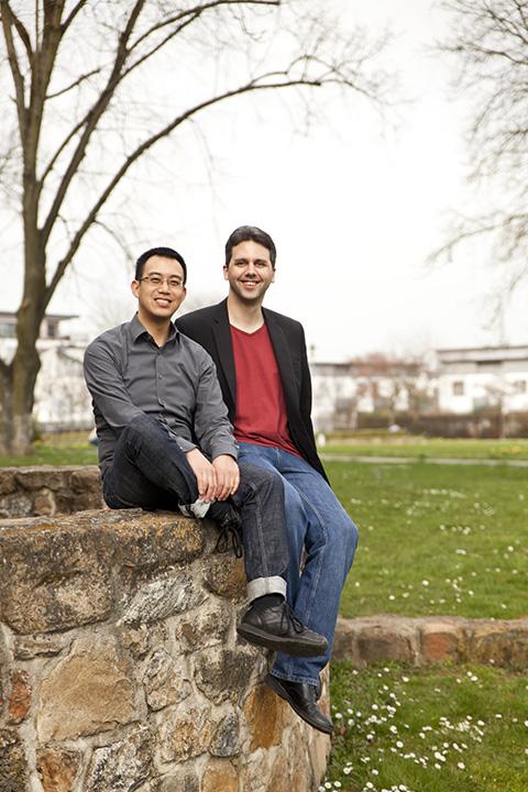 Die FIRSTGRADE-Gründer und -Geschäftsführer Daniel Libertus und Hartmut Schotte